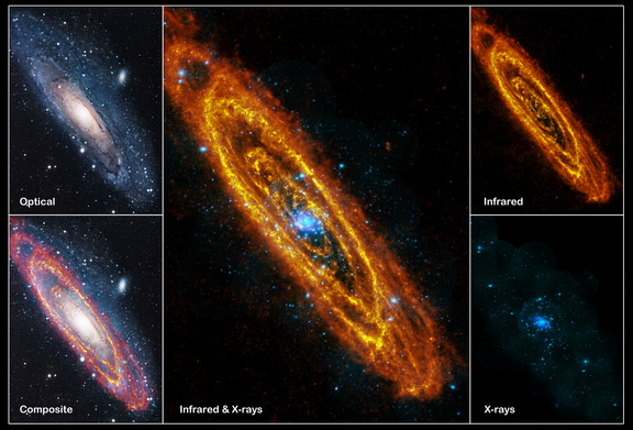 Andromeda our nearest large galactic neighbour