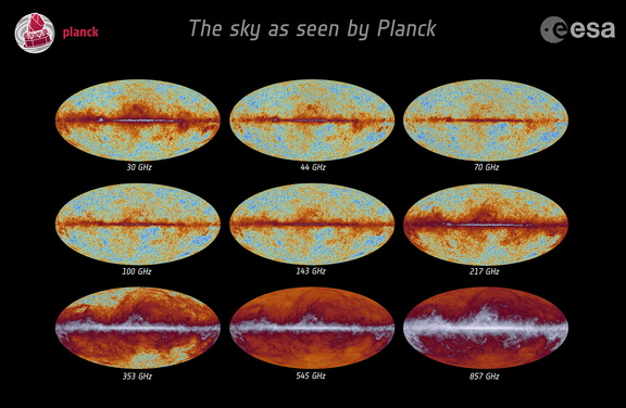 Planck all-sky frequency maps