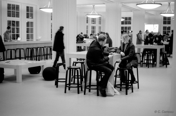 Apple Store Amsterdam 2016 Carreau